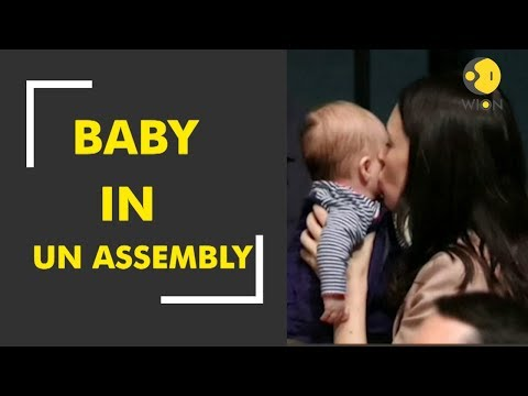 New Zealand PM Jacinda Ardern brings baby to UN assembly