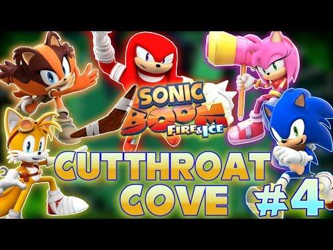 ABM: Sonic Boom Fire & Ice *Cutthroat Cove* Walkthrough 4 HD