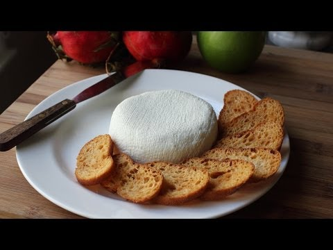 Homemade Cream Cheese - Creamy Yogurt Cheese Spread Recipe
