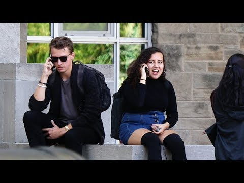 Embarrassing Phone Calls in Public PRANK