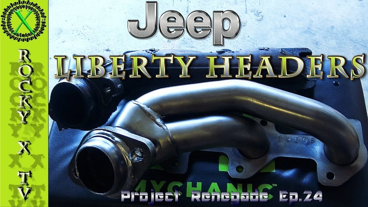 Jeep Liberty Headers, Project Renegade Ep 24