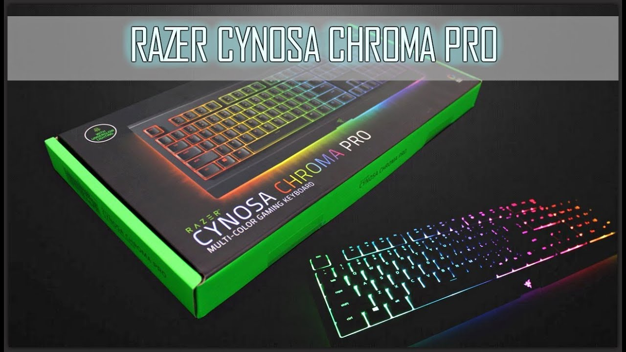 ff7b9a21790 UNBOXING + LIGHTING FEATURE ] - RAZER CYNOSA CHROMA PRO - YouTube
