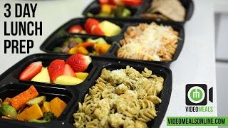 Simple 3 Day Chicken Lunch Box