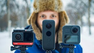 One R vs. One X vs. GoPro Max: BEST 360 Action Cam in 2020?