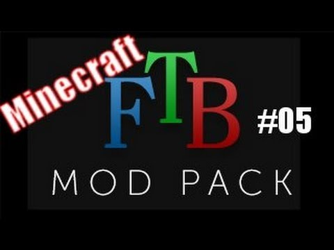 Minecraft Feed The Beast mod pack - Part 5 - How to move lava out of the nether