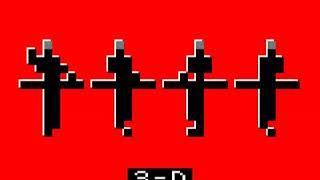 Kraftwerk - Boing Boom Tschak / Techno Pop / Music Non Stop (3D)