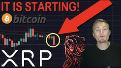 IT IS STARTING FOR XRP/RIPPLE & BITCOIN   BEARS ARE BACK   FIRST SIGN OF PRICE EXPLOSION!