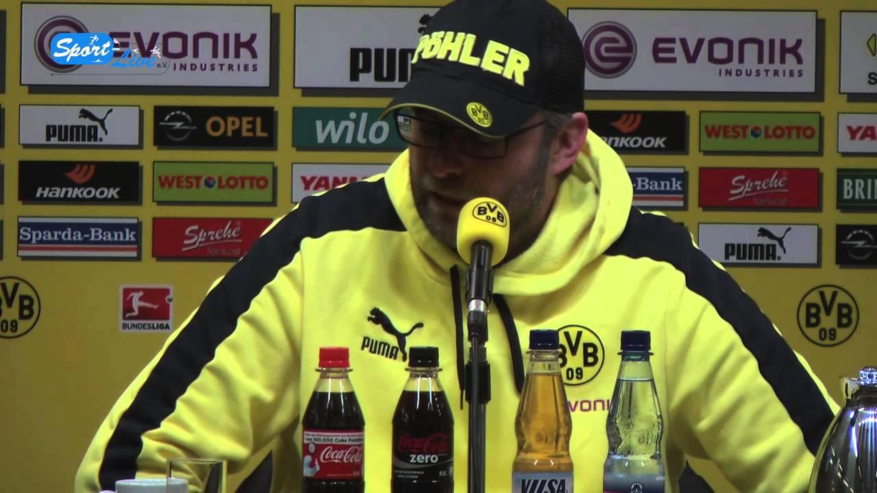 BVB Pressekonferenz vom 9. Februar 2013 nach dem Spiel  Borussia Dortmund gegen den Hamburger SV