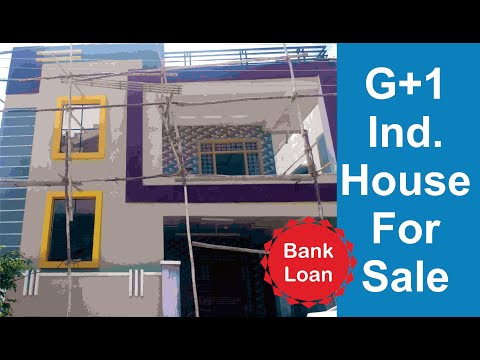 New House For Sale G+1 || Call 9849330123 || Bank Loan || Hyderabad 2019