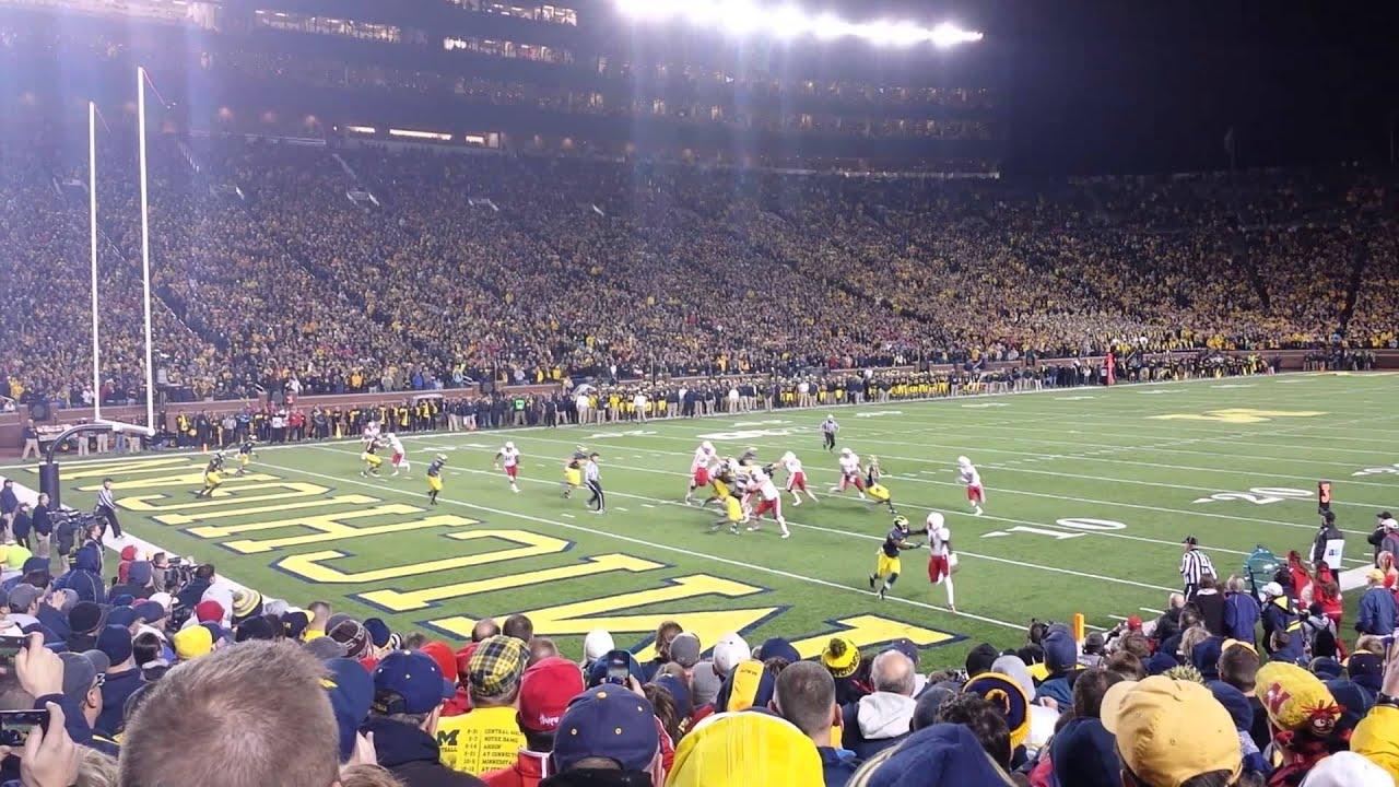 Nebraska vs Michigan 2013 game winning touchdown - YouTube