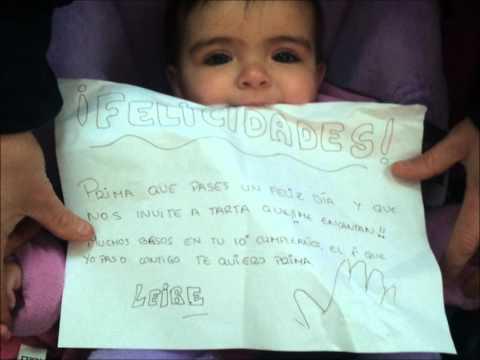 Leira Naranjo Perez 16 meses