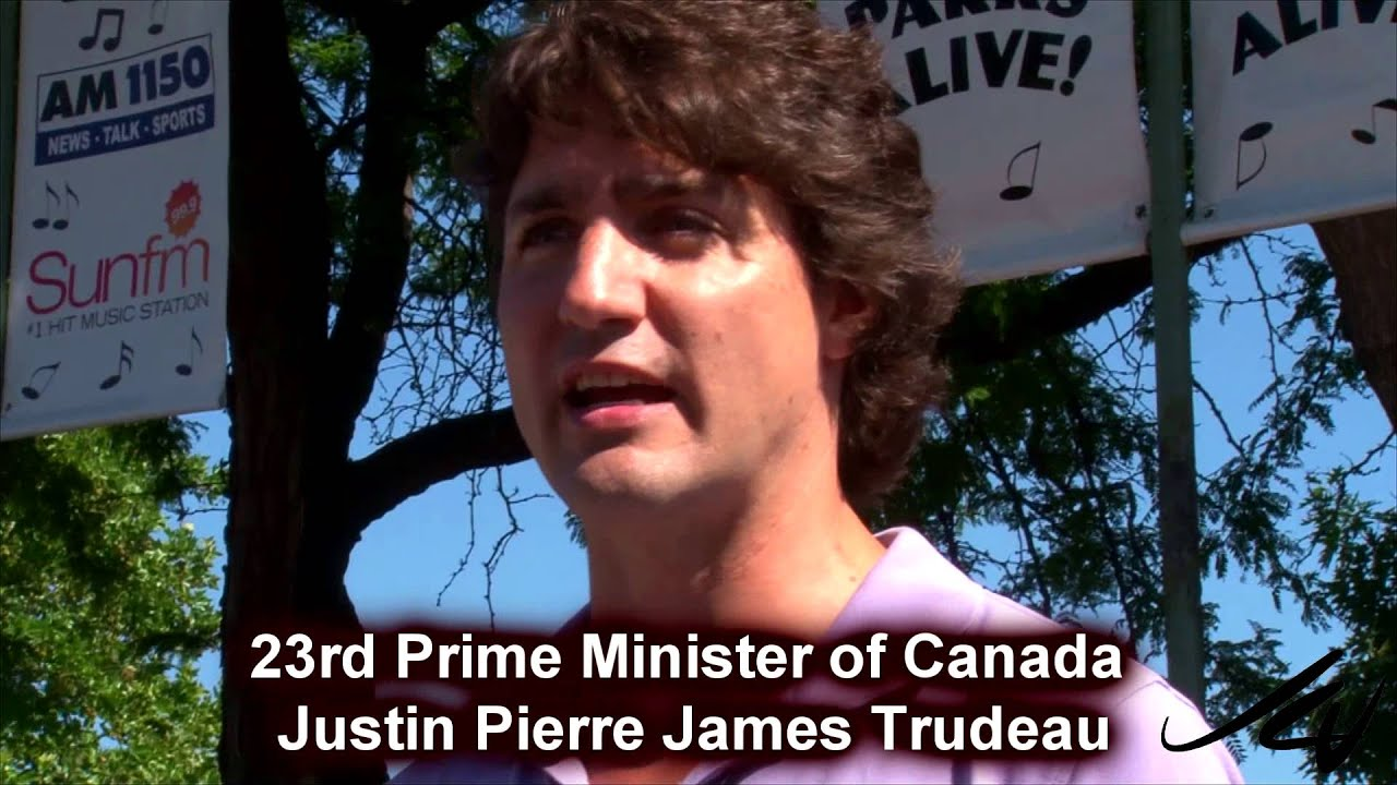 a personal opinion on justin pierre james trudeau as the greatest canadian to ever live Transcript of justin trudeau: a charismatic leader - justin pierre james trudeau is canada's scottish and french canadian descent.