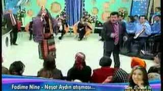 ATIŞMA fadime-neşat (kemençe)KOMİK