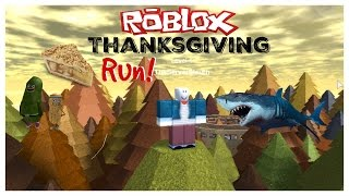Roblox ação de Graças Run!