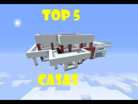 Minecraft ☆ TOP 5 CASAS ☆ Videos De Viajes