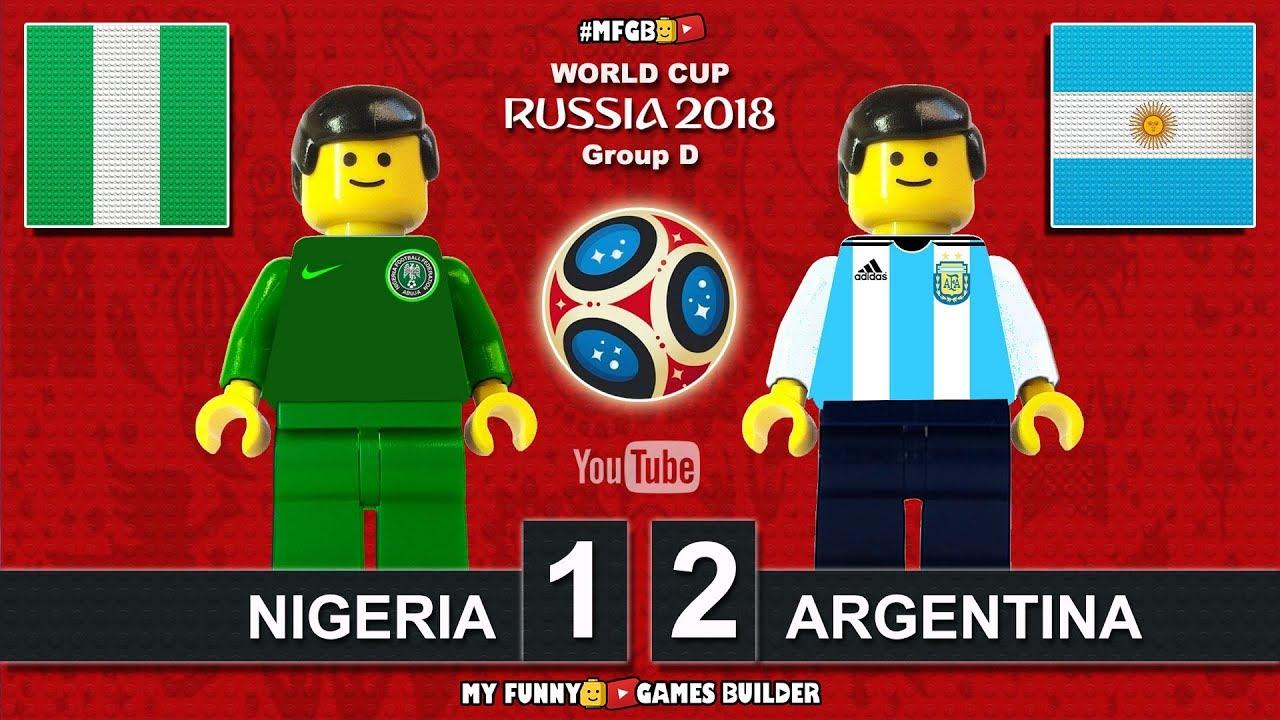 Download Nigeria vs Argentina 1-2 • World Cup 2018 (26/06/2018) All Goals Highlights Lego Football
