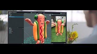 كيفية جعل الواقع المعزز العدسات على سناب شات | شات ع استوديو | شات عدسة Studio