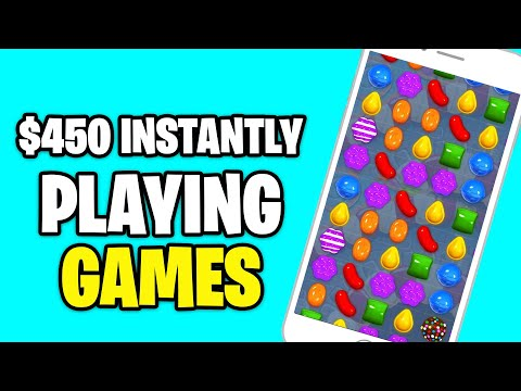 MAKE $450 INSTANTLY PLAYING VIDEO GAMES [Make Money Online]