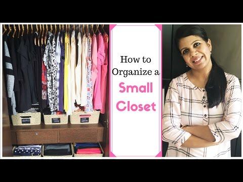 How To Organize A Small Closet- Closet organization Ideas