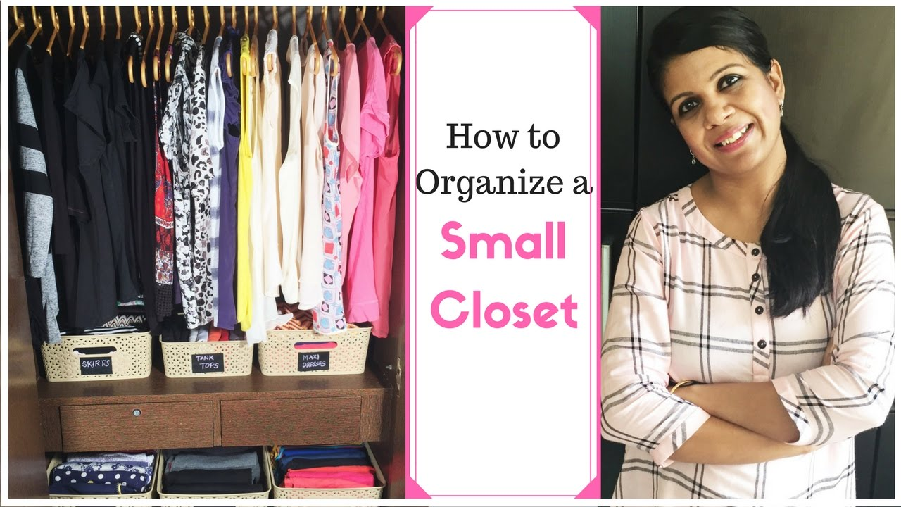 Organizing Small Closet Ideas Part - 42: How To Organize A Small Closet- Closet Organization Ideas - YouTube