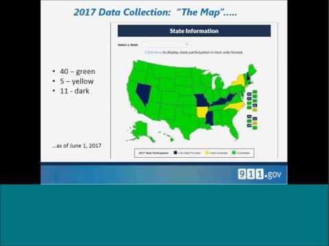 National 911 Program - June 2017 State of 911 Webinar