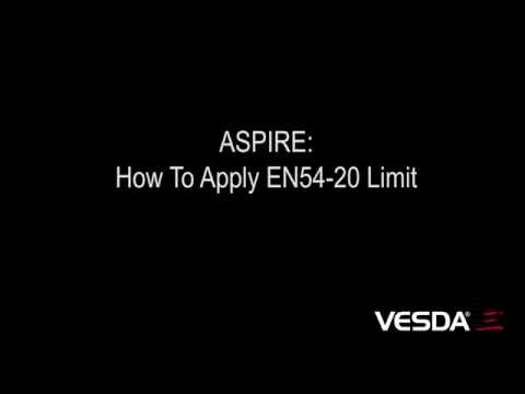 ASPIRE: How To Apply EN54-20 Limit