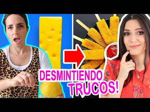 TESTING VIRAL FOOD TRICKS THAT WILL SPEED UP YOUR COOKING with PAULINA COCINA! Caro Trippar