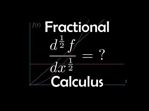 The Fractional Derivative, What Is It? | Introduction To Fractional Calculus