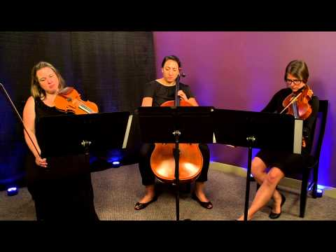 Simple Gifts (Copland) for String Trio (Violin, Viola, Cello)