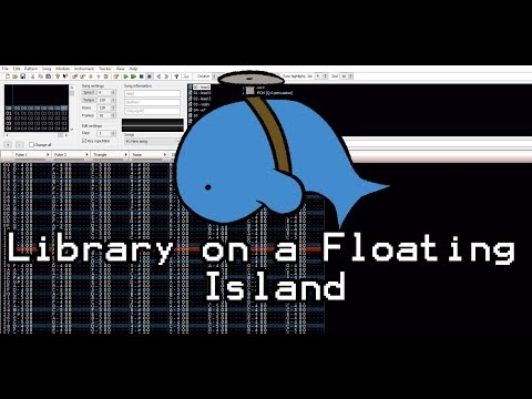 Library on a Floating Island - Original - Famitracker (8-Bit)