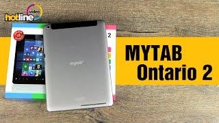 Обзор MYTAB Ontario 2: Android и Windows 10 в одном планшете