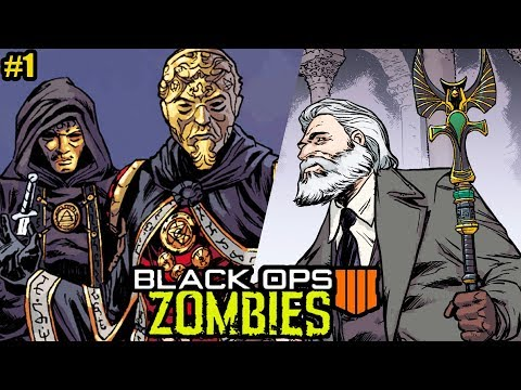 NEW BO4 ZOMBIES SECRETS REVEALED IN NEW STORYLINE COMIC! (Black Ops 4 Bruno's Origin Story)