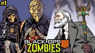 NEW BO4 ZOMBIES SECRETS REVEALED IN NEW STORYLINE COMIC! (Black Ops 4 Bruno\'s Origin Story)