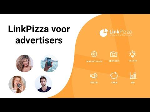 Influencermarketing met LinkPizza