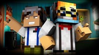 ★ NERD PARKOUR!? ★ | Minecraft Gold VS Diamond Parkour • Minecraft Parkour Map