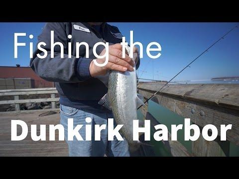 Fishing the Dunkirk Harbor | Sony NEX 5R | HD1000 | HD