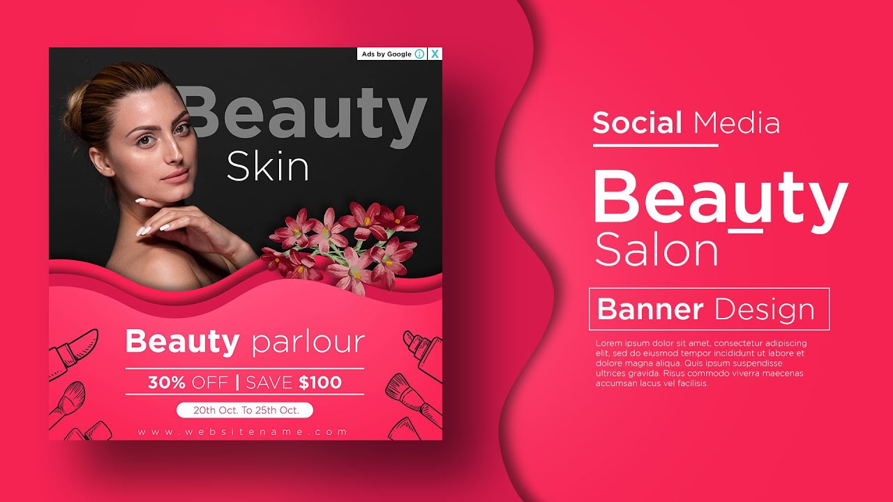 Instagram Post Design Digital Marketing Banner Design In Adobe Illustrator Cc Youtube