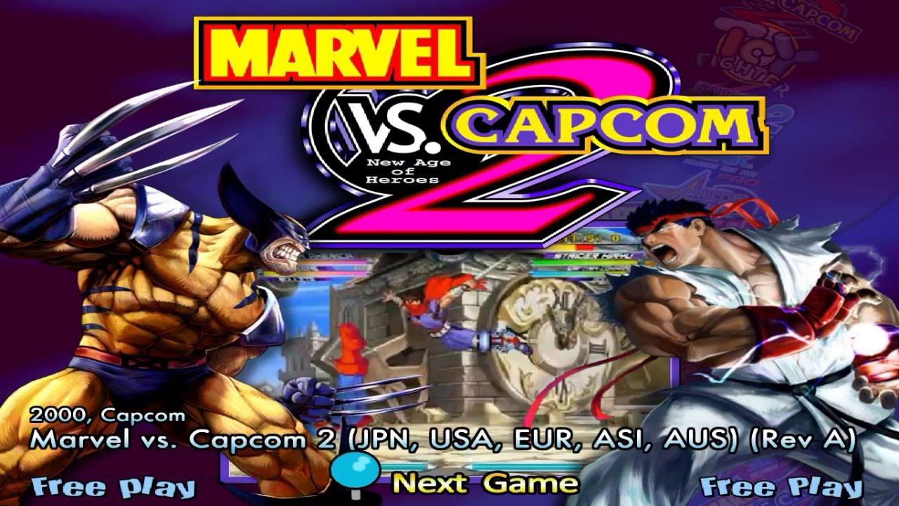 [Download Link] DEmul + Bios + Marvel Vs Capcom 2 (Sega NAOMI)