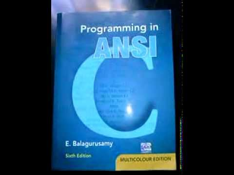 Ansi C Best Book Of C For Early Learners By E
