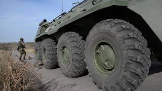В Самарской области прошли учения российских миротворцев
