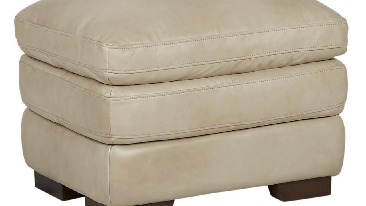 Tan Leather Ottoman Coffee Table Furniture Designs YouTube - Tan leather ottoman coffee table