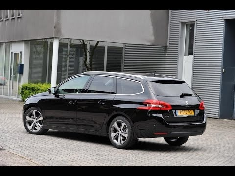 peugeot 308 sw 1 2 puretech 130 review 2014 youtube. Black Bedroom Furniture Sets. Home Design Ideas