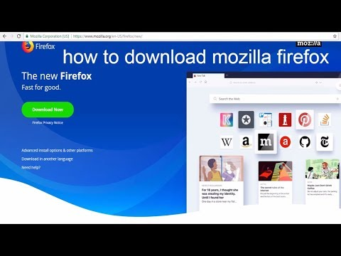 how to download mozilla firefox   How to download Mozilla