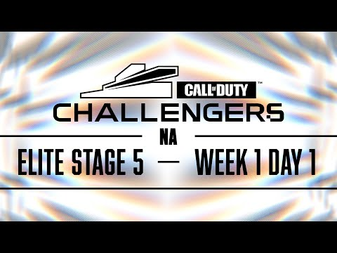 Call Of Duty Challengers Elite 2021 | NA Stage 5 Week 1 | Day 1