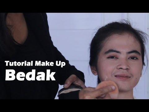 Tutorial Make Up Natural Indonesia bagian 1 - Bedak