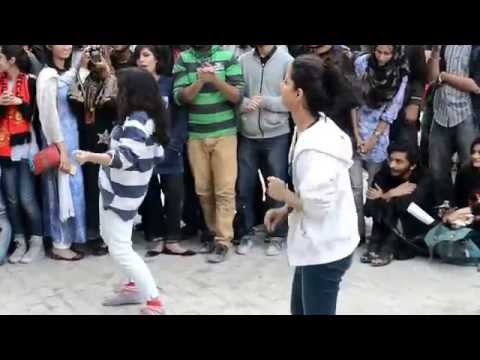 Sean Garnier Playing Games and Daning - Event In NCA Lahore Pakistan - Presented By Red Bull