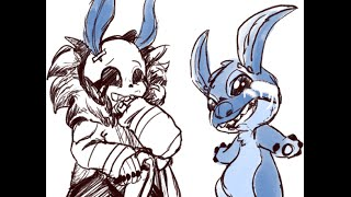 Watching Lilo And Stitch ( Undertale Comic Dub )
