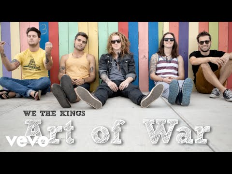 We The Kings - Art Of War (Audio)