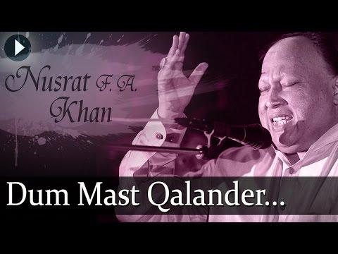 Duma Dum Mast Qalander - Nusrat Fateh Ali Khan - Top Qawwali Songs