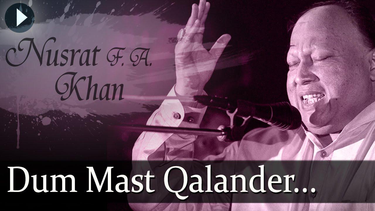 Download Duma Dum Mast Qalander - Nusrat Fateh Ali Khan - Top Qawwali Songs